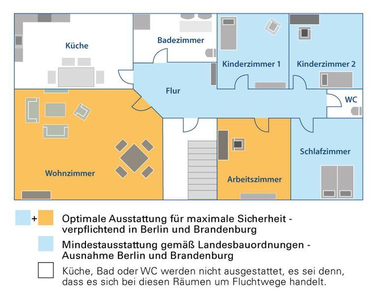 rauchmelderpflicht in bayern christian arendt hausverwaltung. Black Bedroom Furniture Sets. Home Design Ideas